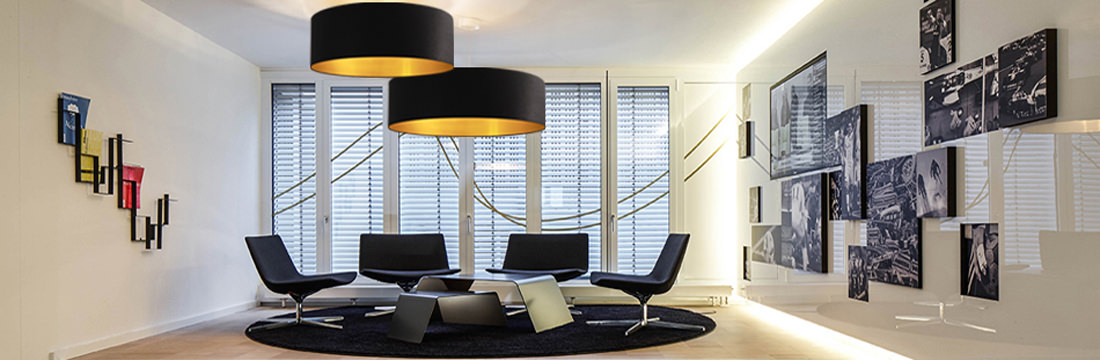 lampenschirme innen gold und silber. Black Bedroom Furniture Sets. Home Design Ideas