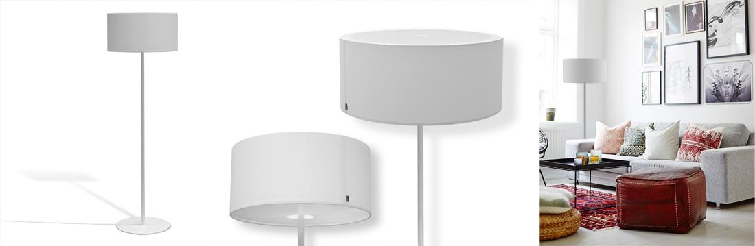 lampenschirme f r stehleuchten stehlampen. Black Bedroom Furniture Sets. Home Design Ideas