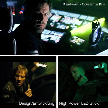 LED Stick Filmproduktion