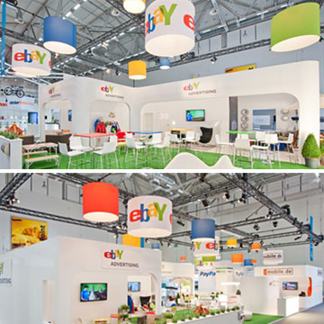 E-bay-Messestand
