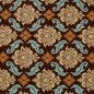 Mobile Preview: tissu vintage brun