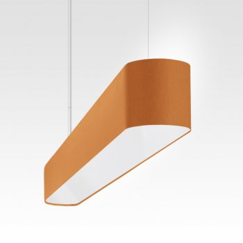 Luminaire suspendu de table orange