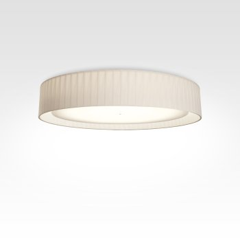 Design ceiling lamp pleated white