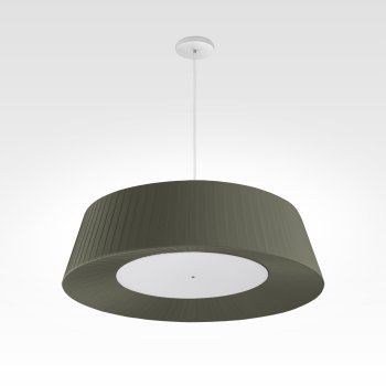 design pendant light living room led oliv green