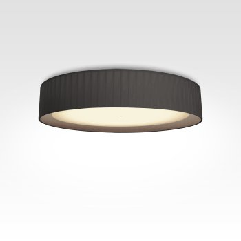Design ceiling lamp pleated black