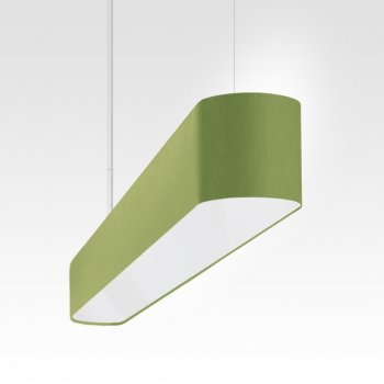 thin pendant light dining room green