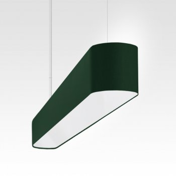 modern LED dining table pendant lamp dark green