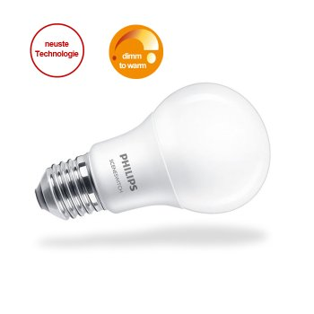 LED bulb - 3-Step dimming without dimmer