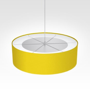 Suspension luminaire jaune