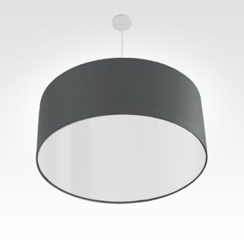 led lampshade anthracite