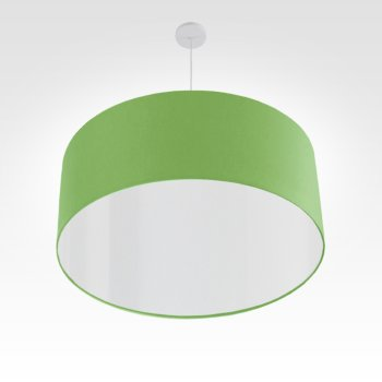 led lampshade apple green