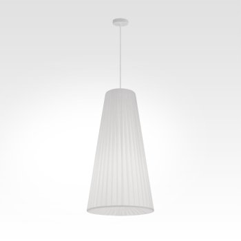 Dining table pendant lamp conic