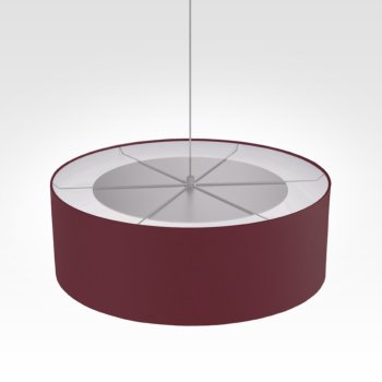 Suspension luminaire bordeaux