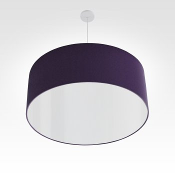 led lampshade darkpurple