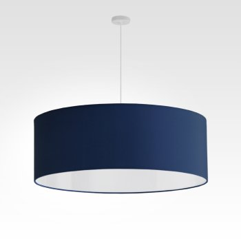 lampshade dark blue