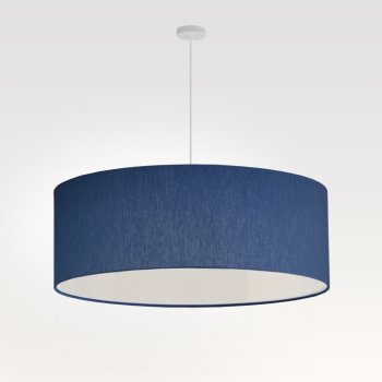 lamp shade dark blue