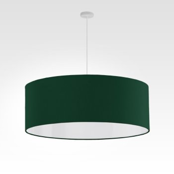 lamp shade dark green