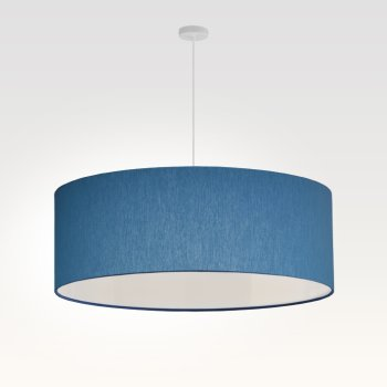 lamp shade sky-blue