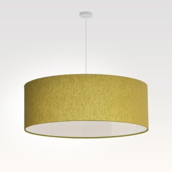 lamp shade bright olive-green