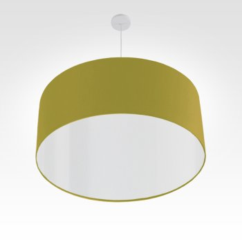 led lampshade bright olive-green