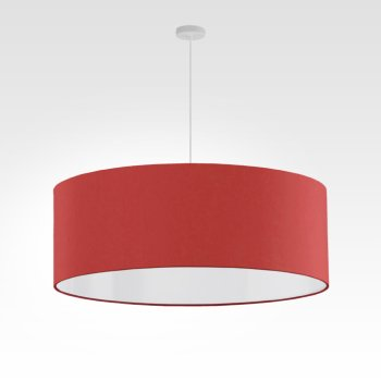 Pendant light - Lampshade - red