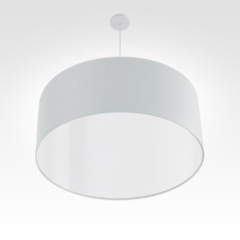 led lampshade silver