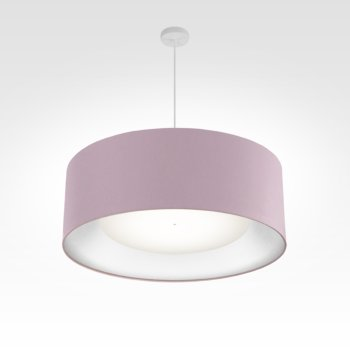 lamp shade silver-fabric ø 60