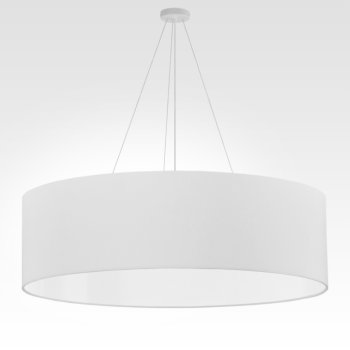 big pendant light white