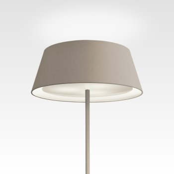 modern dimmable floor lamp with lampshade