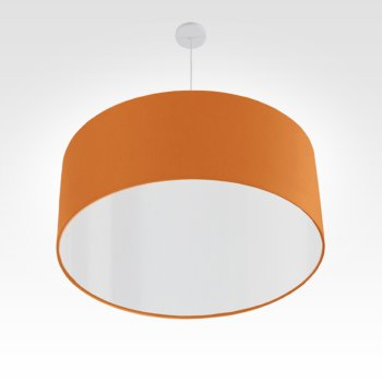 Stofflampe orange