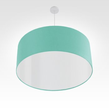 Lampe à suspension turquoise