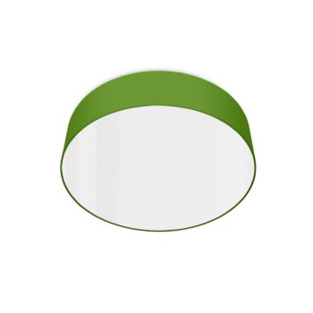 led ceiling luminaire apple green