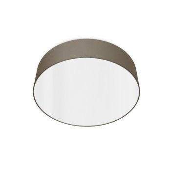 led ceiling luminaire beige gray