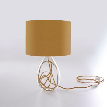 lampes de table beige