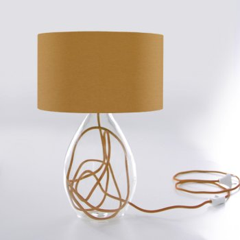 table lamp  beige