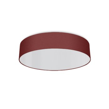 round ceiling light living room claret