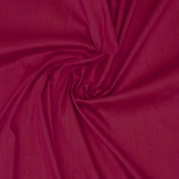 Dupioni silk raspberry