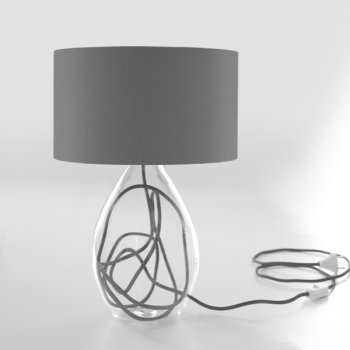 table lamp gray