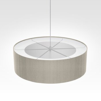 Suspension luminaire gris beige