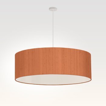 pendant light living room beige red
