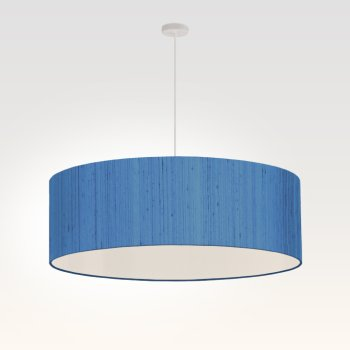 suspension pour salon bleu