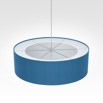 lamp shade blue
