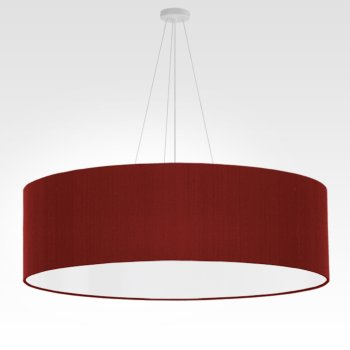 large pendant lamp dark red