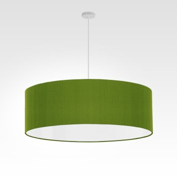 lampshade fabric - green