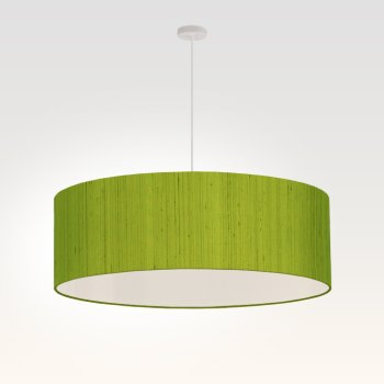 pendant light living room green