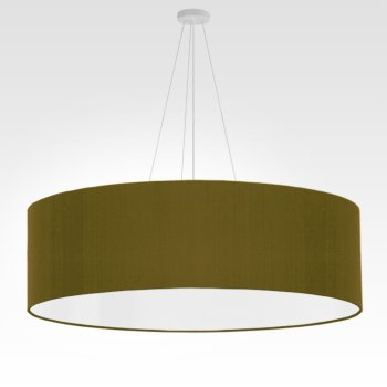 large pendant lamp olive-green