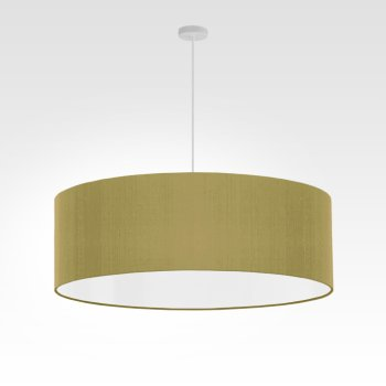 lampe suspension vert olive brillant