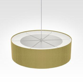 Suspension luminaire vert olive brillant