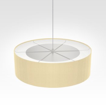 Suspension luminaire sable
