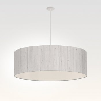 suspension pour salon gris argent